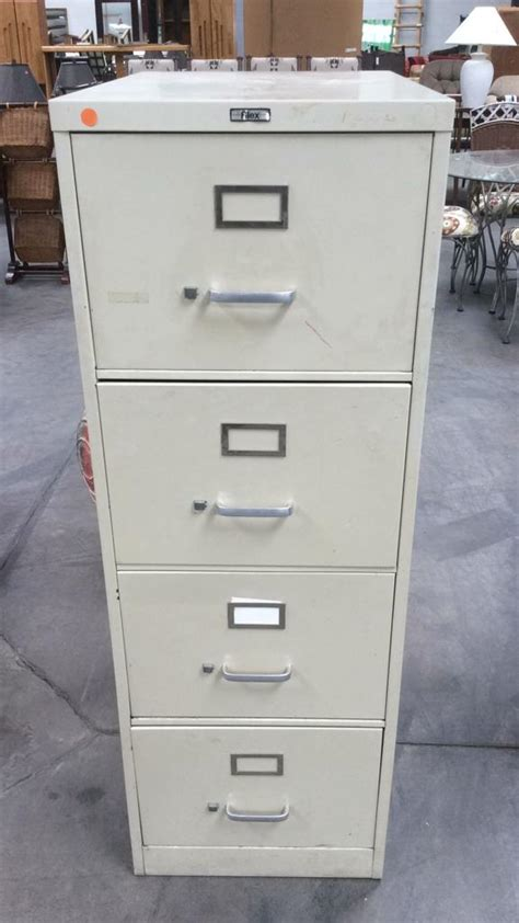 Filex File Cabinet by Filex 4 Drawer Metal Filing Cabinet