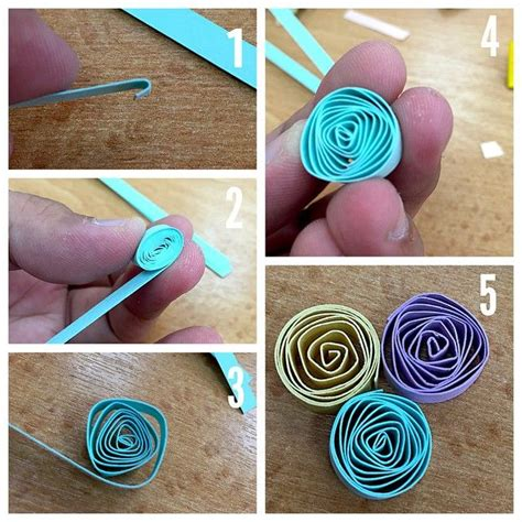 How To Make A Paper Quilling Designs - best 25 quilled roses ideas on quiling paper