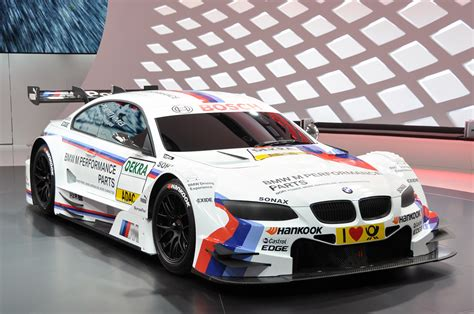 bmw race cars 2012 bmw m3 dtm race car looks fast sitting still autoblog