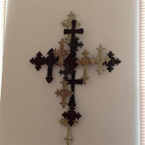 Wall Crosses Decor by High Resolution Wooden Cross Wall Decor 4 Cross Wall