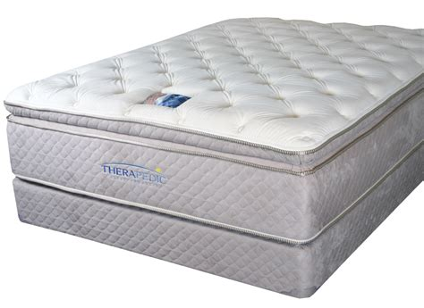 bed pillow tops therapedic backsense pillow top mattresses