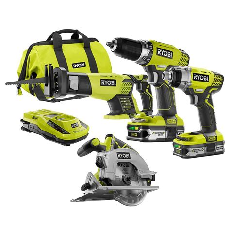 ryobi 18 volt one lithium ion cordless drill driver