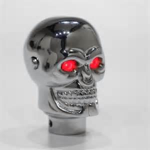 universal skull gear shift knob lever stick lighted gears