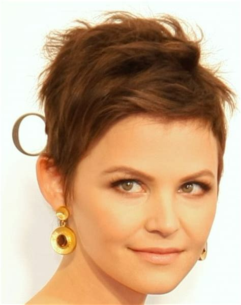 how to cut short hair around the ears ginnifer goodwin s short hairstyle easy fix cut around