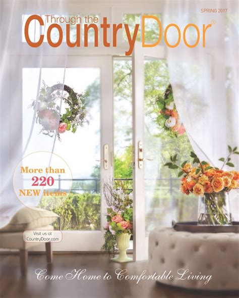 country home decor catalog request a free through the country door catalog