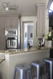 Kitchen Painting Ideas With Oak Cabinets by Choosing My Battles And A Paint Color Shanty 2 Chic