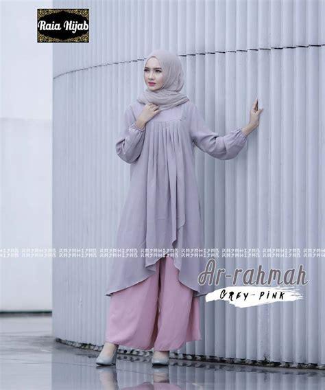 Tunik Muslim Premium Balotely Import Warna Mint Ld 112 baju murah tanah abang jual busana muslim