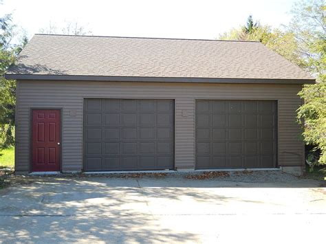 Custom 2 Car Garage by Garage Affordable 2 Car Garage Kits Ideas Custom