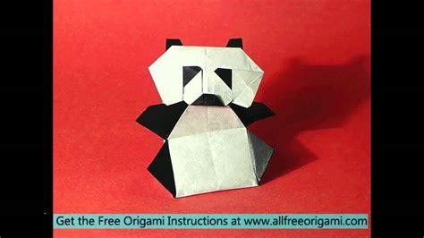 Origami Panda Bookmark - origami panda bookmark