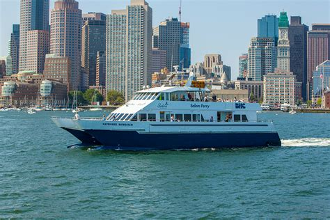boat cruise boston boston to salem ferry schedules fares boston harbor