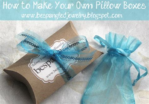how to make your own jewelry box bespangled jewelry diy pillow boxes make your own