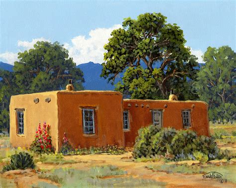 House Plans For A View by New Mexico Adobe By Randy Follis