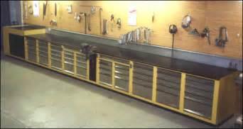 bench shops built in workbench wood shop inspiration