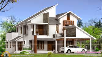 home design app with roof house all side view rendering keralahousedesigns