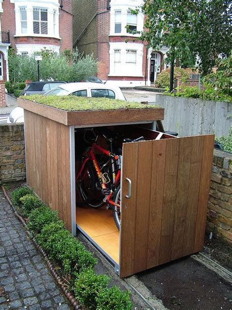 25 best ideas about bike shed on outdoor bike