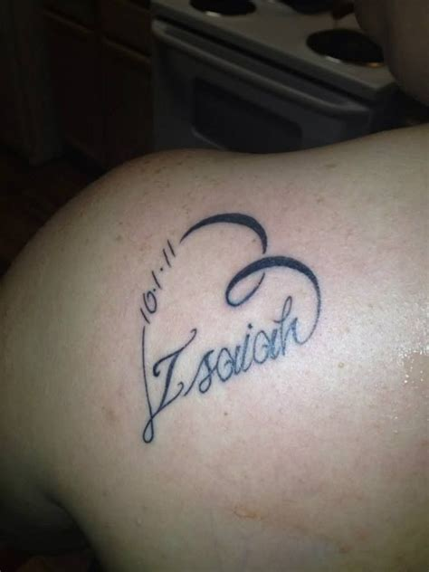 tattoo ideas for date of birth pin by joshandlaurie shafman on hrm tattoos pinterest