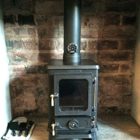 Small Wood Stove For Shed by Small Multi Fuel Stove With A Steam Industrial Finish