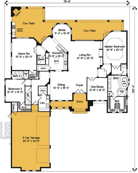 Bonus Room House Plans by Exciting Mediterranean House Plan With Bonus Room