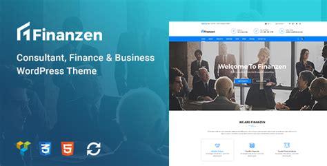 Themeforest After Effects | finanzen consultant finance business wordpress theme