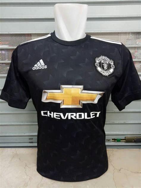 Jersey Mu Aon Putih Terbaru jersey manchester united away 2017 2018 terbaru replika top quality rumah jersey