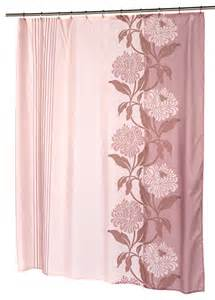 extra long quot chelsea quot fabric shower curtain in mauve contemporary shower curtains by
