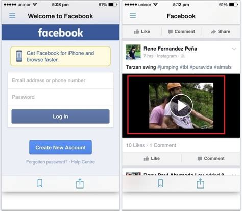 fb video downloader steps for download facebook video in iphone ipad how to