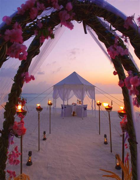 17 best ideas about sunset beach weddings on pinterest