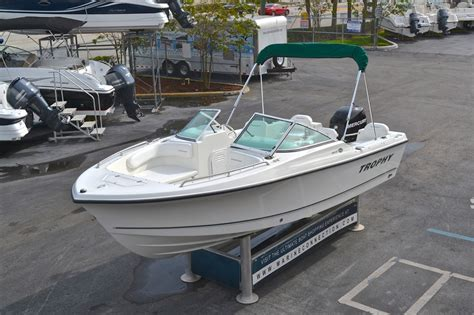 dual console boats used 2008 trophy 1806 dual console boat for sale in west