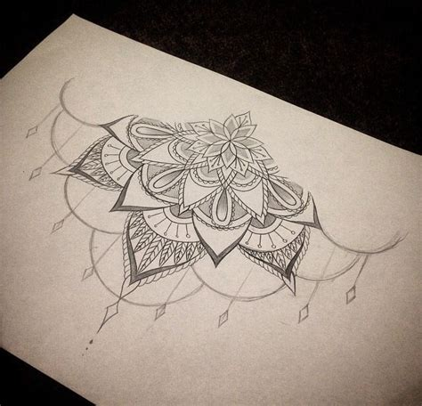 sternum mandala tattoo sternum without the dangly part ink