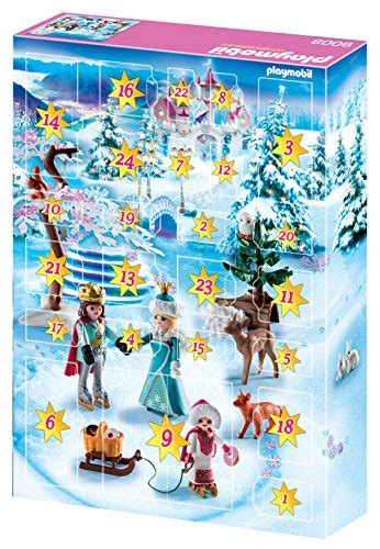 PLAYMOBIL Advent Calendar   Royal Ice Skating Trip   Import It All