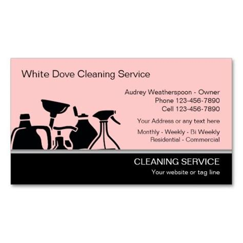 cleaning business card templates 273 best images about cleaning business cards on