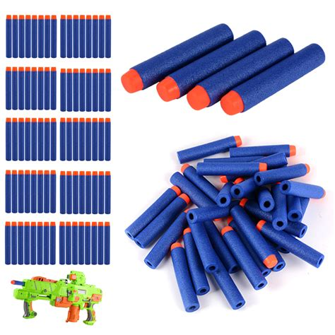 Peluru Nerf Foam 7 2 Cm 1000pcs 7 2cm foam refill soft bullet darts for nerf