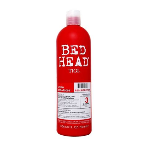 tigi bed head shoo tigi bed head urban antidotes resurrection shoo tigi tigi