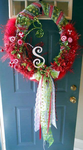 searchwords christmas door wreath   meela