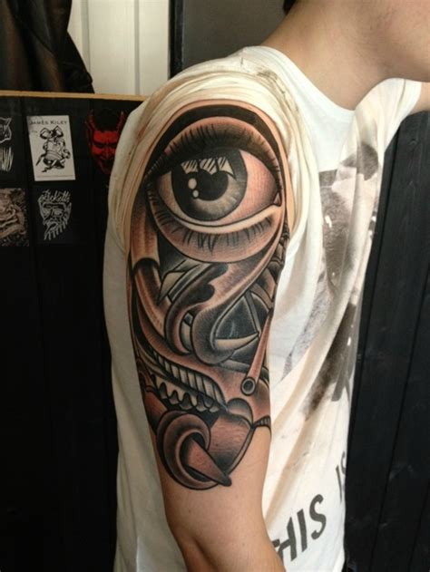 eye for an eye tattoo design 40 ultimate eye designs