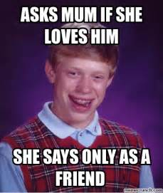 Bad Luck Bryan Meme - bad luck brian