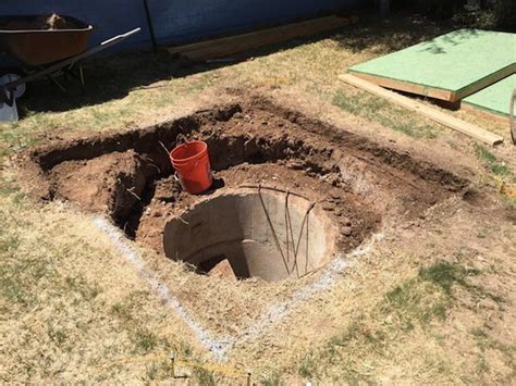backyard bomb shelter man finds mysterious backyard fallout shelter photos