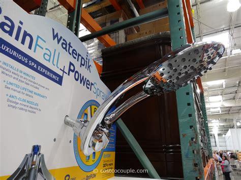 Costco Waterpik Shower by Waterpik Rainfall Powerspray Showerhead