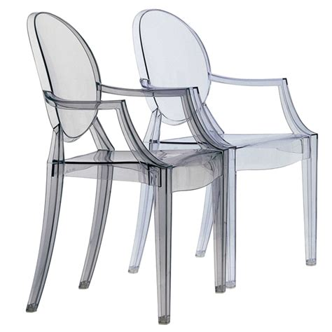 sedie ghost kartell sedia louis ghost trasparente design shop