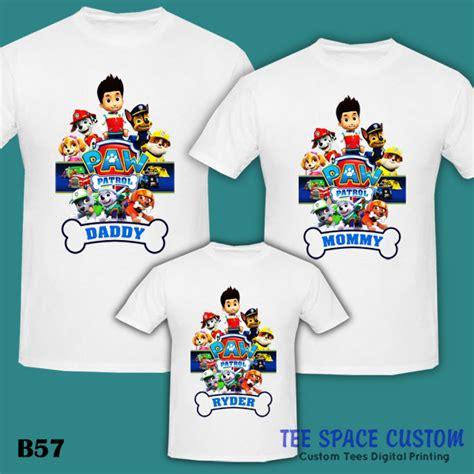 Kaos Paw And Patrol Bb211 paw patrol shirt t shirts design concept