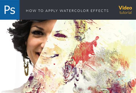 tutorial watercolor photoshop 10 premium adobe illustrator after effects photoshop