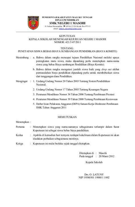 contoh surat pernyataan untuk siswa contoh surat dari sekolah untuk orang tua siswa contoh