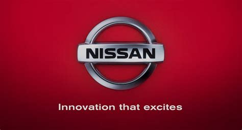 Nissan Innovation That Excites Logo Car Interior Design