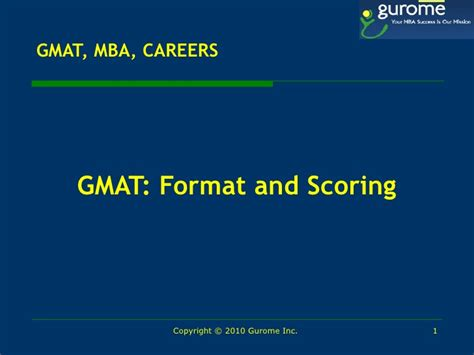 One Year Mba No Gmat by Netip Conference Seattle Gurome Gmat Mba Career