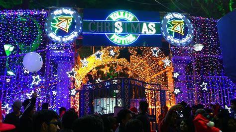images of christmas in kolkata allen park christmas celebrations kolkata youtube