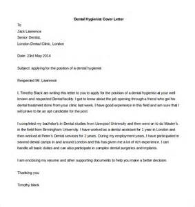 dental hygienist cover letter exles free cover letter template 52 free word pdf documents