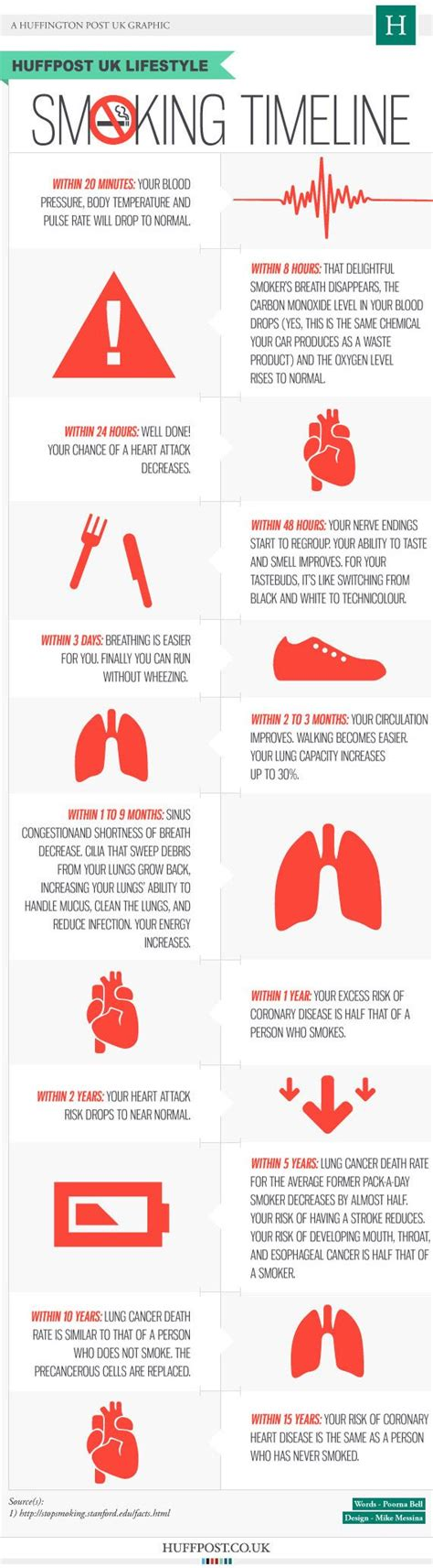 Ways To Detox From Nicotine by Best 25 Quit Timeline Ideas On