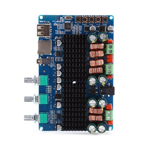2 1 Channel Bluetooth digital 2 1 channel lifier board bluetooth usb input