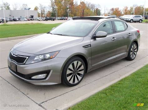 2012 Kia Optima Sx Titanium Silver 2012 Kia Optima Sx Exterior Photo