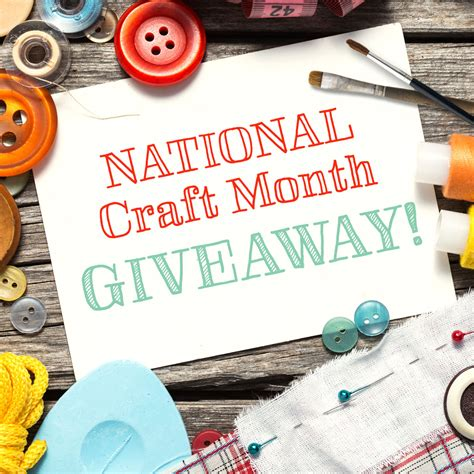 Nationals Giveaways - national craft month giveaway free homeschool deals 169